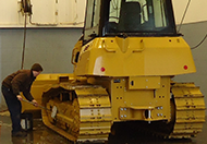 Heavy Equipment Cleaning